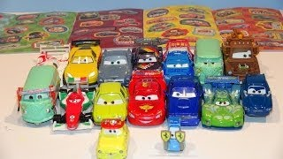 Pixar Cars Glow in the Dark Sticker Sheets with the REAL Cars from Cars and Cars 2 and Lightning McQ