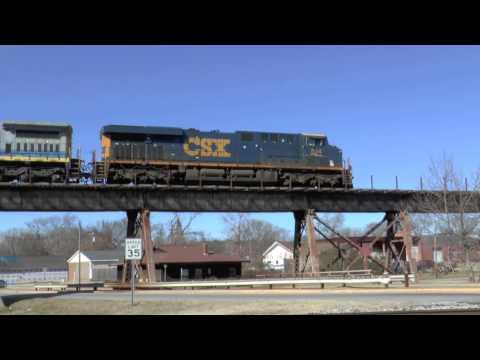 Weldon NC CSX Railroad 3700 Foot Long Bridge