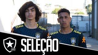 Cover images Alvinegros na Seleção Sub-15
