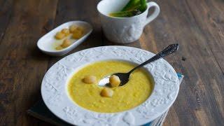 Острый кукурузный суп-пюре со сливками