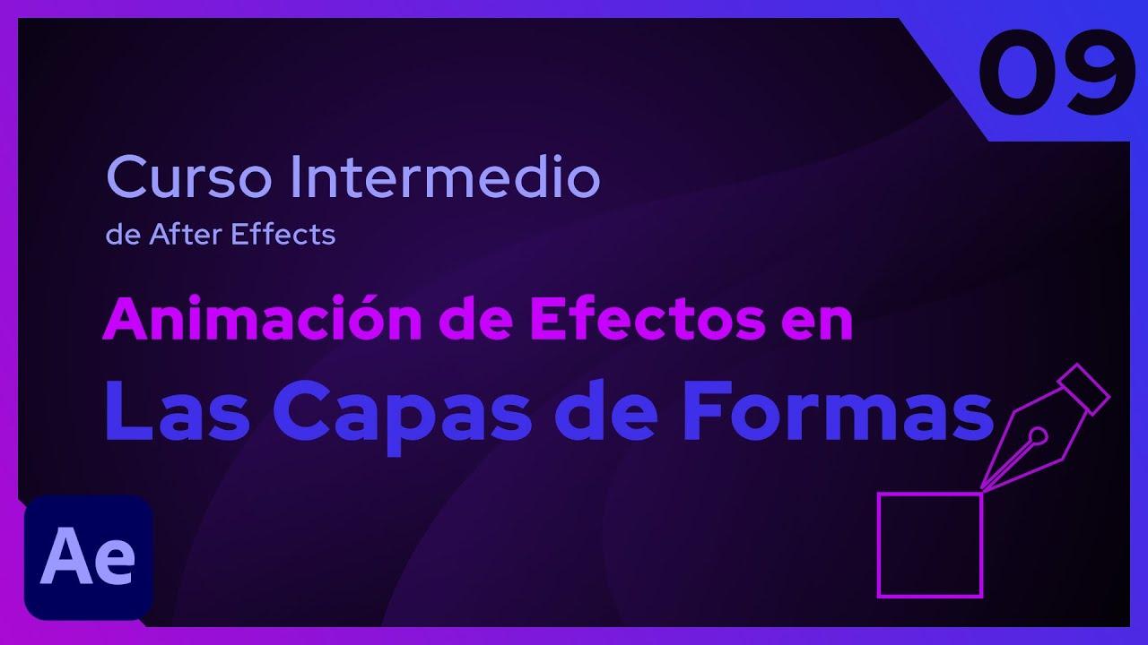Animación de Efectos en las  Capas de Formas | After Effects - Tutorial