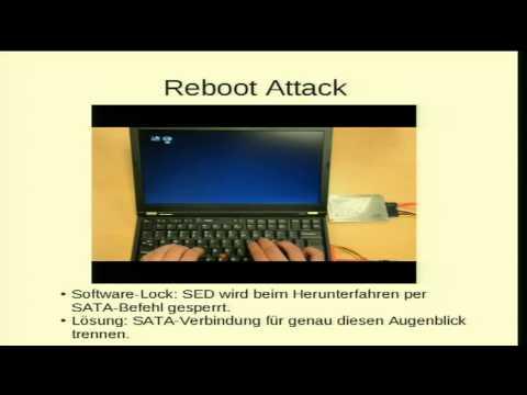 29C3: (Un)Sicherheit Hardware-basierter Festplattenverschlüsselung (DE)