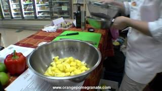 Orange Pomegranate Coming Soon: Pineapple Black Bean Salad