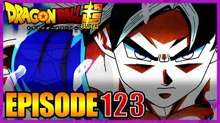 LE TITRE DE L'ÉPISODE 123 DE DRAGON BALL SUPER - LES PRÉDICTIONS DE BABA #85
