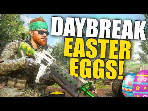 "MW Remastered HIDDEN Daybreak Easter Eggs! ""Irish Downpour"" Walkthrough!"