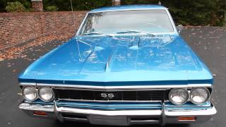 1966 Chevelle SS, Marina Blue for sale Old Town Automobile in Maryland
