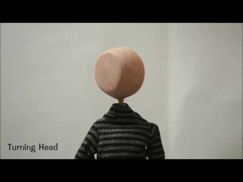 University Work: Fun with Puppets Part 1 (Head Turn, Touch Toes and Ball Throw) - BB