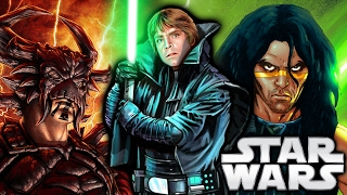 8 Jedi Masters Who Became Sith Lords (Canon+Legends) - Star Wars Explained