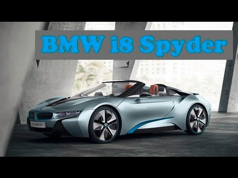 Bmw I8 Spyder Soon See The Bmw I8 Spyder In Production Form Youtube