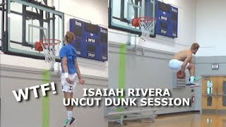 Isaiah Rivera | UNCUT DUNK CRAZY DUNK SESSION | Is he the BEST Dunker in the World?! Video