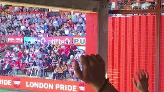 Jackson Irvine Chant - Brentford v Hull City - #AwayDays