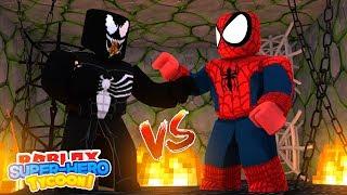 ROBLOX Adventure - SPIDER -MAN HOMECOMING vs VENOM!!