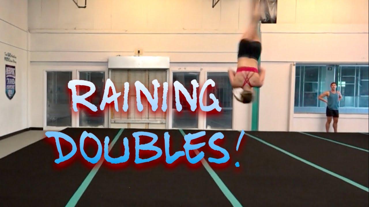 Cheer Extreme Sr Elite ~ Raining Doubles