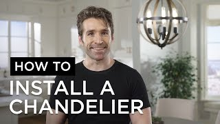 How to Install a Chandelier - Installation Tips from Lamps Plus