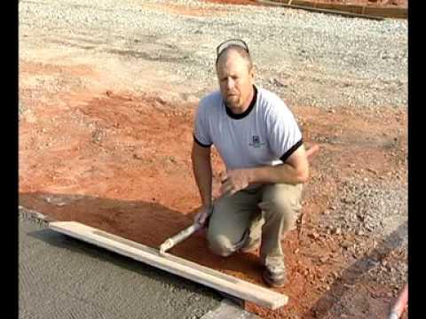 Bull Floats - Finishing Tips For Concrete