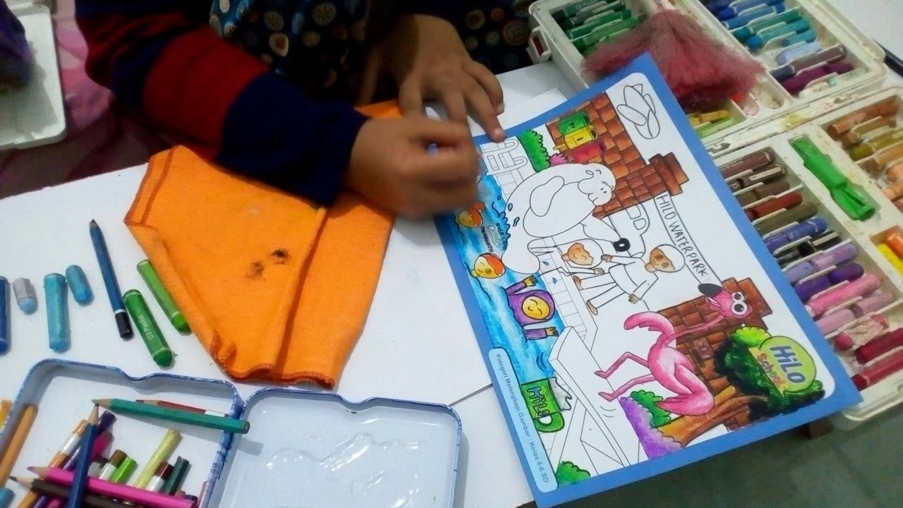 Mewarnai HiLo School 2019 Seri 2