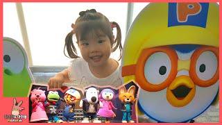 뽀로로 노래 댄스 어린이 뮤지컬 공연 봤어요! 함께 뽀로로와노래해요 ♡ 뽀로로 키즈카페 테마파크 놀이 Pororo Song Musical | 말이야와아이들 MariAndKids