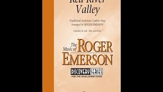 Red River Valley (TBB Choir) - Arranged by Roger Emerson
