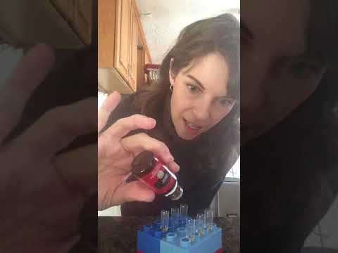 Filling vegetable capsules with Young Living Oils