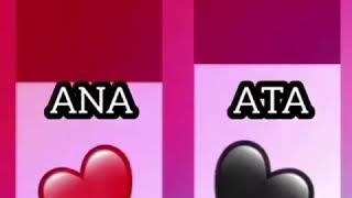 Ana və ataya aid😍😍