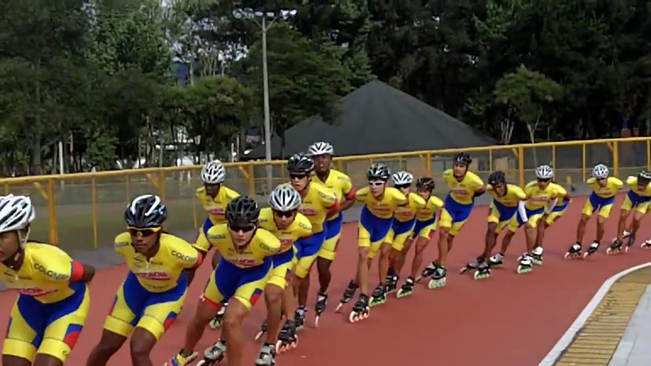 Colombia el patinaje en