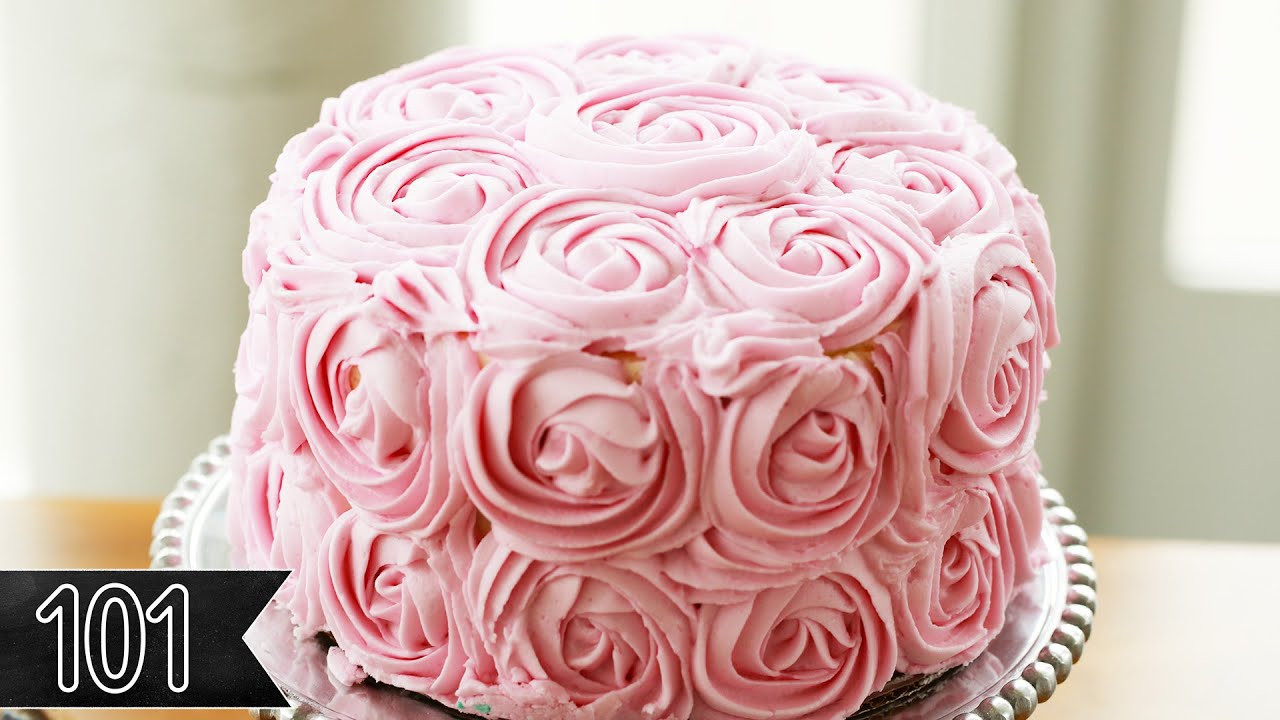 Five Beautiful Ways To Decorate Cake Youtube