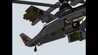 kamov ka 58 helicoptero stealth