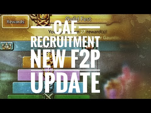 Lords Mobile - Guild Fest Rewards, New F2P Update, CaE Recruitment