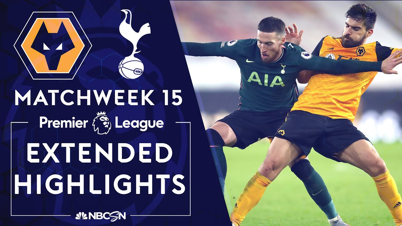 Wolves v. Tottenham | PREMIER LEAGUE HIGHLIGHTS | 12/27/2020 | NBC Sports
