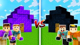 NETHER HOUSE vs. END HOUSE! (Pals vs. Pals Minecraft)