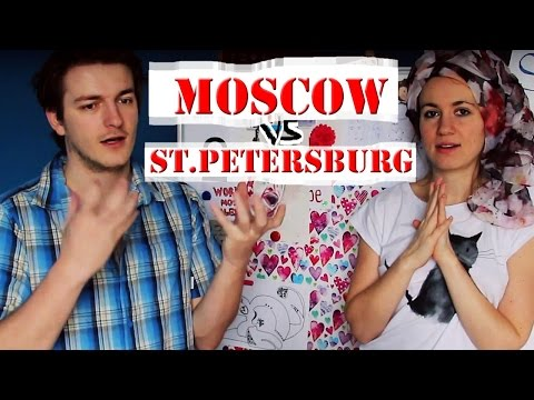 MOSCOW vs SAINT PETERSBURG people