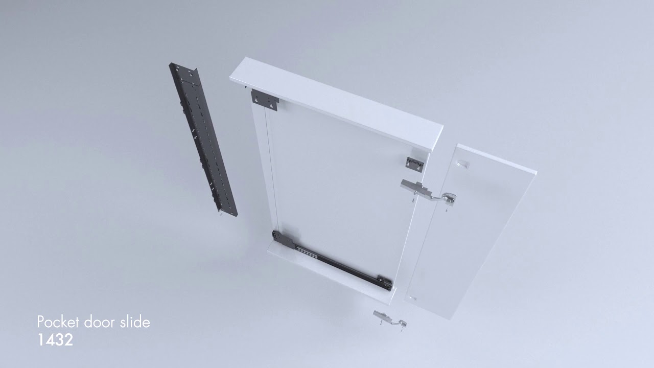 Accuride 1432 Pivot Sliding Door Runners Installation Guide Available From Hafele Uk Youtube