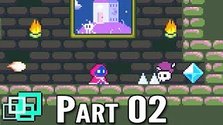 Little Game Gamplay Walkthrough Part 02 (Indie Puzzle Platformer)