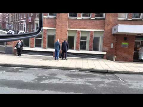Guy acts dead York place leeds 15 / 04 / 16