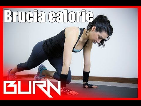 Allenamento Brucia grassi e calorie - Burn 01