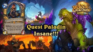 Hearthstone - New Quest Paladin - So Lucky - Kobolds and Catacombs