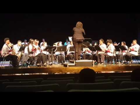 Craigmont Middle School Band - Union March