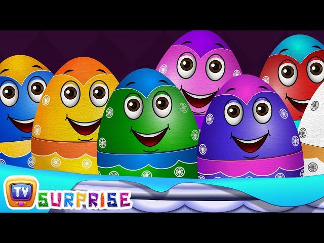 Surprise Eggs Farm Animals Toys   Learn Farm Animals & Animal Sounds   ChuChu TV Surprise For Kids