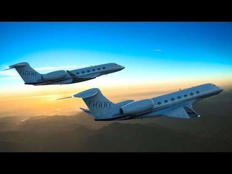 Gulfstream Reveals New G500 and G600 Business Jets – AINtv
