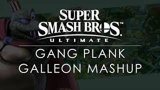 SSBU Gang-Plank Galleon Mashup (DKC/SSBU)