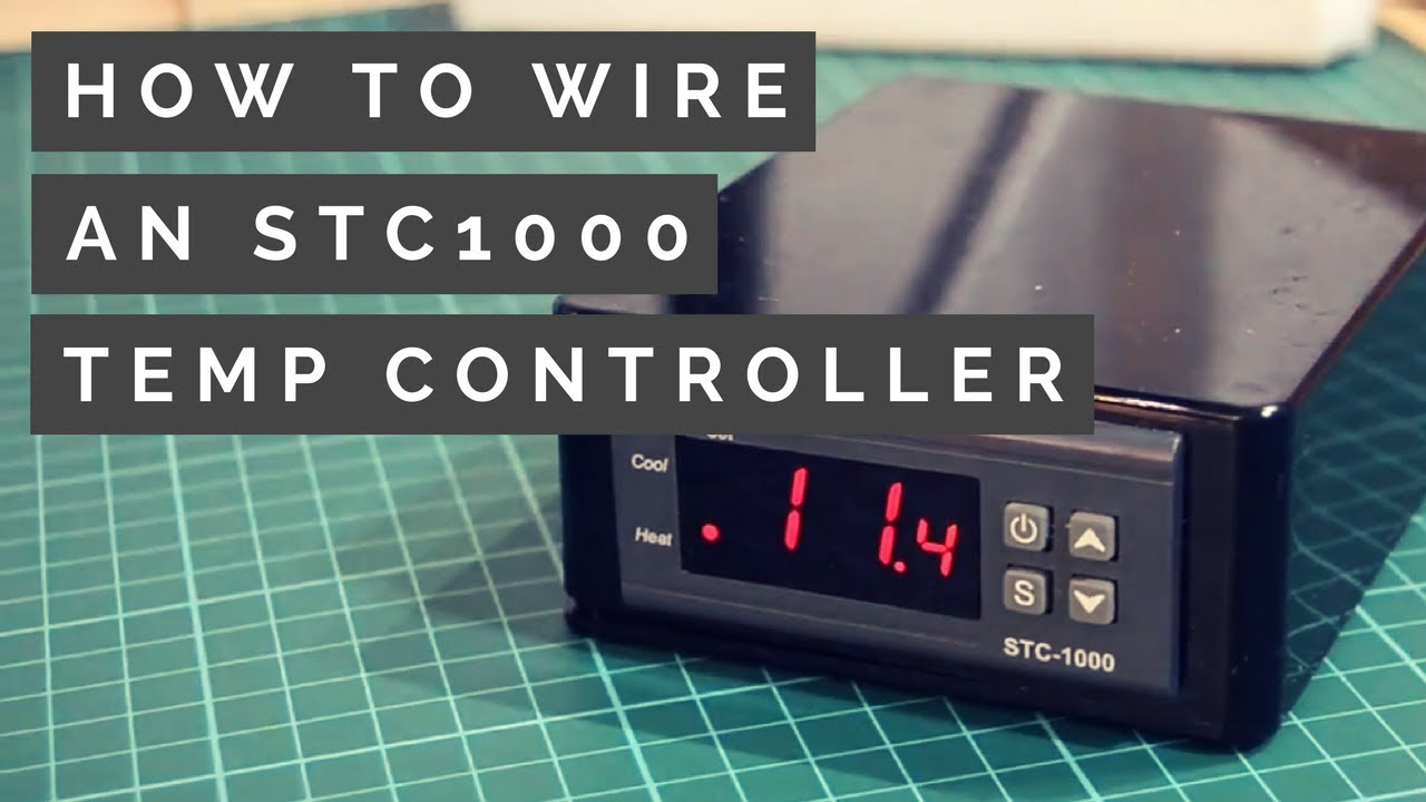 stc1000 wiring guide how to make a homebrew temperature controller 2018  [ 1280 x 720 Pixel ]