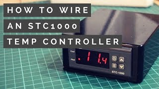 STC1000 Wiring Guide - How to make a Homebrew Temperature Controller (2018)