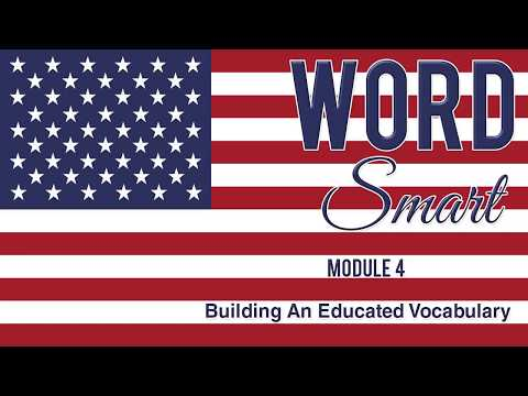 Word Smart Vocabulary Building - Part 4