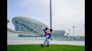 Mickey Mouse goes on walkabouts around Yas Island