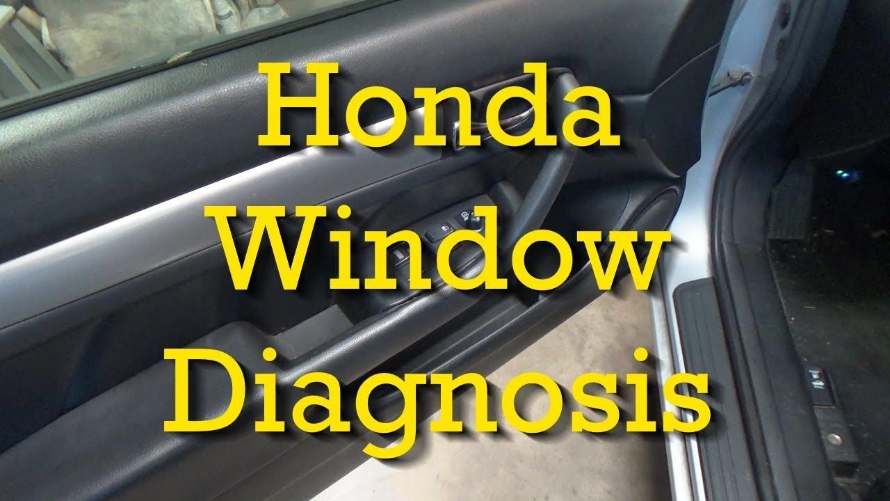 2003 2004 2005 2006 2007 HONDA ACCORD PASSENGER FRONT Door Window Motor OEM