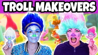 Trolls Makeup Tutorial. Which Trolls Characters Are We? (2018) Totally TV