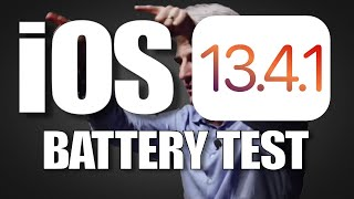 iOS 13.4.1 Battery Life test on iPhone SE, 6S, 7, 8, XR and iPhone 11