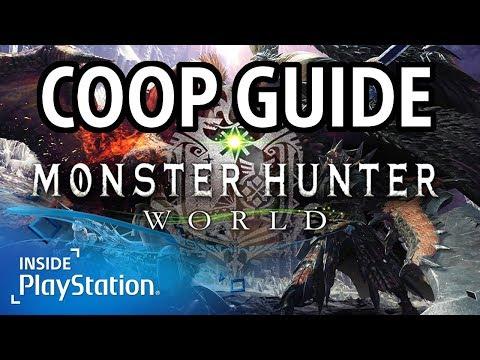 Monster Hunter World Guide - Multiplayer & Coop | PS4 Gameplay | MHW Guide deutsch