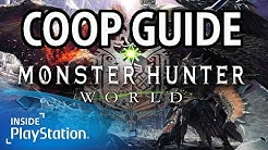 Monster Hunter World Guide - Multiplayer & Coop | PS4 Gameplay | MHW Guide deutsch
