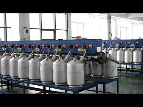 How To Produce Liquid Nitrogen Tank?